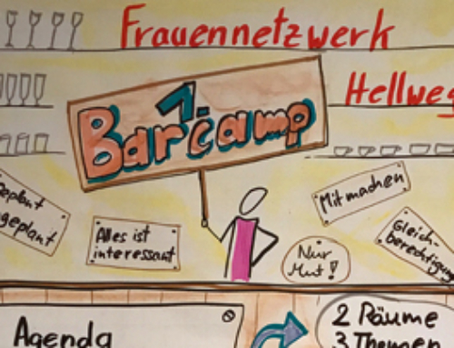 """""""Barcamp-Probe"""" beim Frauennetzwerk Hellweg"""
